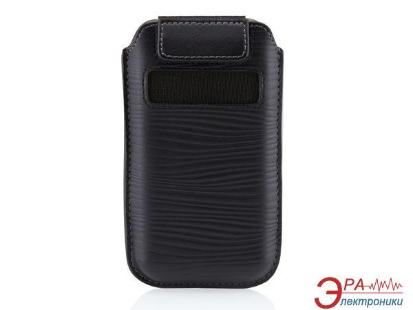 Чехол Belkin iPhone 4 Belkin VERVE LEATHER Black (F8Z633cw)