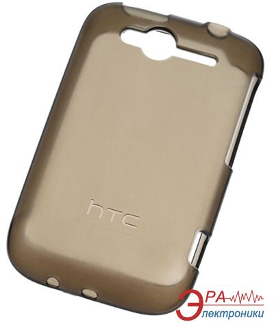 Чехол HTC TP C610 Wildfire S Plastic brown (99H10317-00)