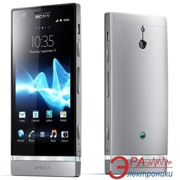 Смартфон Sony Xperia P LT22i Silver (1262-2309)