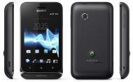 Смартфон Sony Xperia tipo dual ST21i2 Serene Black (1264-6140)