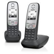 Радиотелефон Gigaset A415 DUO (L36852H2505S301) Black