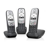 Радиотелефон Gigaset A415 TRIO (L36852H2505S311) Black