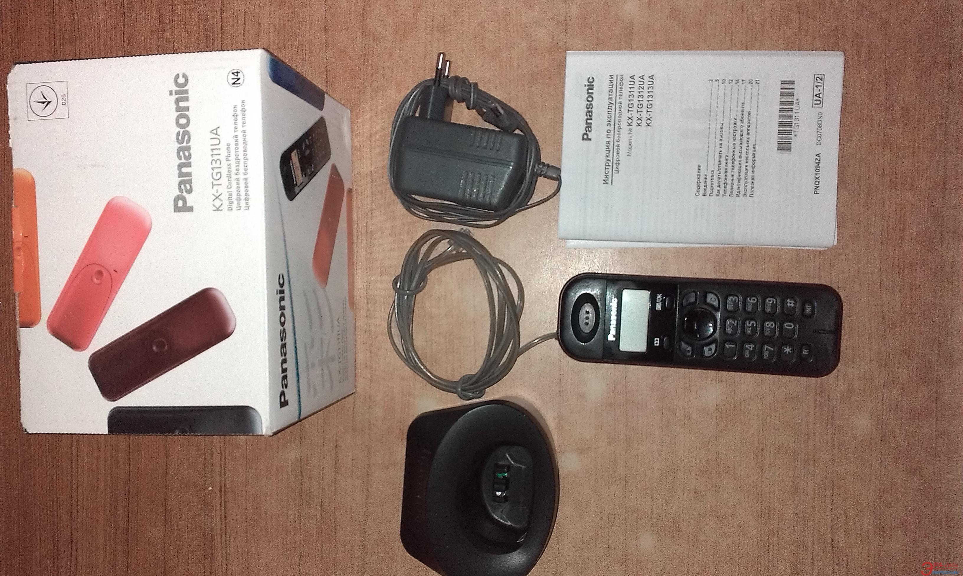 Радиотелефон Panasonic KX-TG1311UAV Б/У