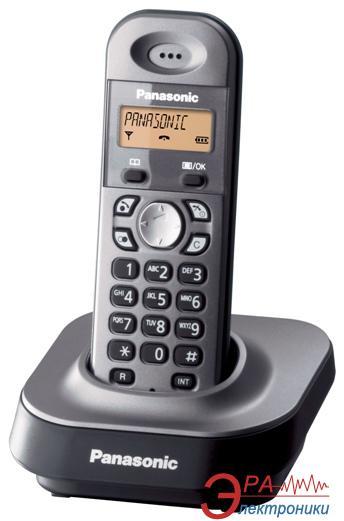 Радиотелефон Panasonic KX-TG1411UAM Metallic