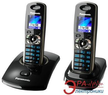 Радиотелефон Panasonic KX-TG8302UAB Black