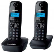 Радиотелефон Panasonic KX-TG1612UAH Black/Grey