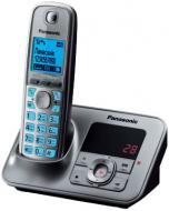 Радиотелефон Panasonic KX-TG6621UAM Metallic