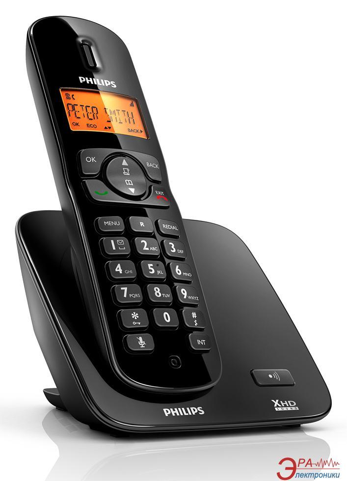 Радиотелефон Philips CD1701B/51 Black