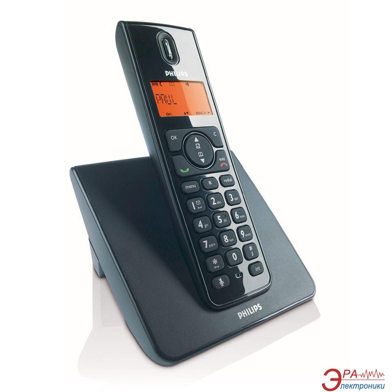 Радиотелефон Philips SE1501B/51 Black