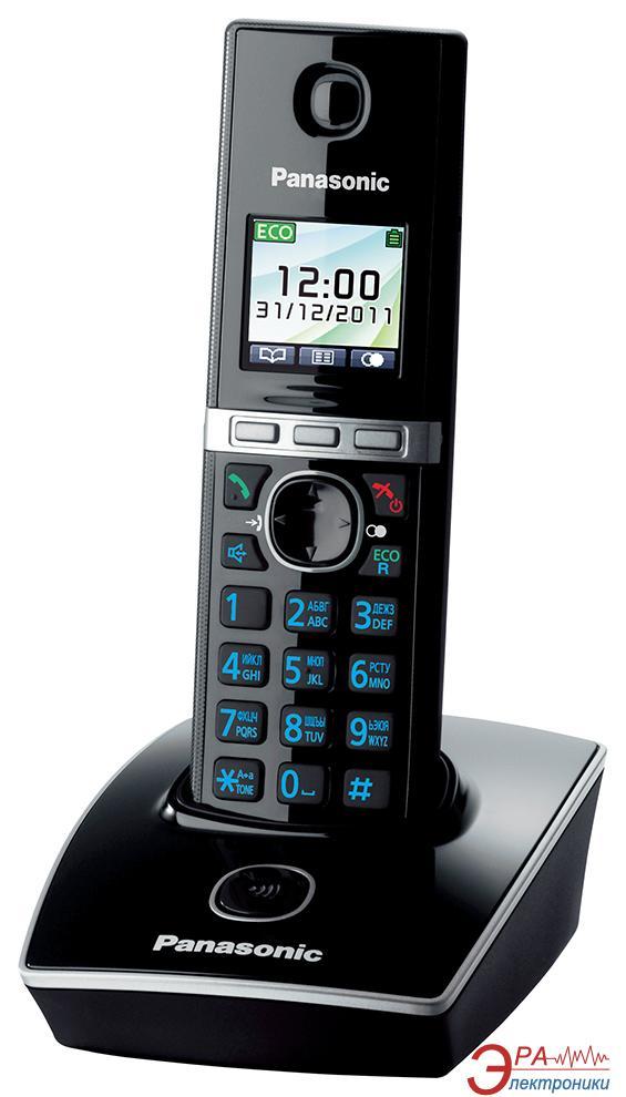 Радиотелефон Panasonic KX-TG8051UAB Black