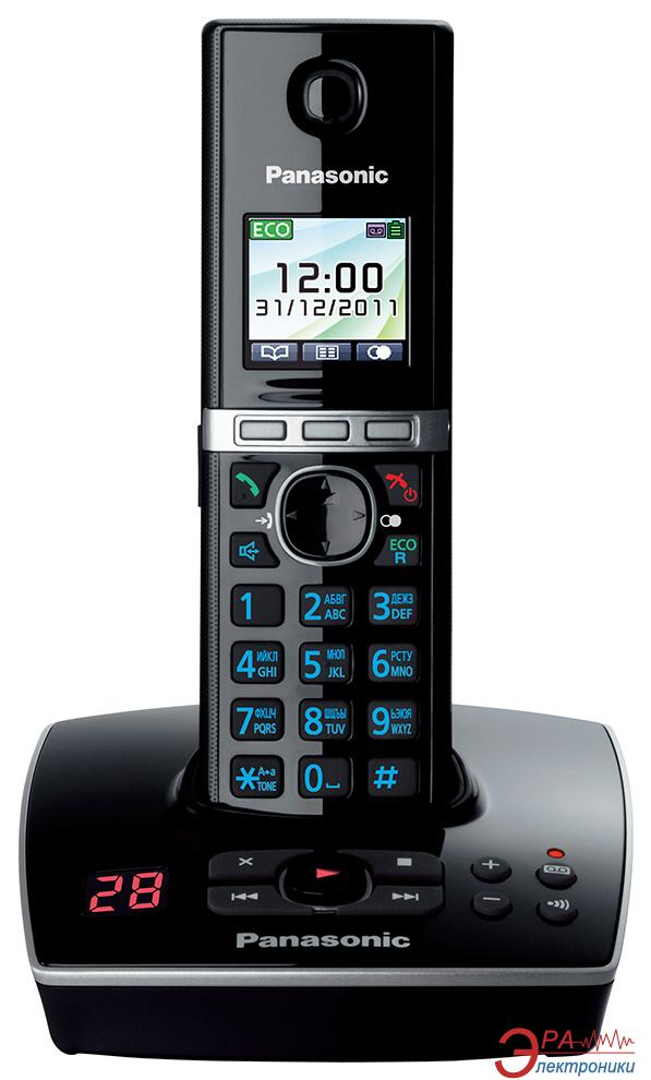 Радиотелефон Panasonic KX-TG8061UAB Black