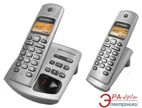 Радиотелефон Motorola D412 Silver