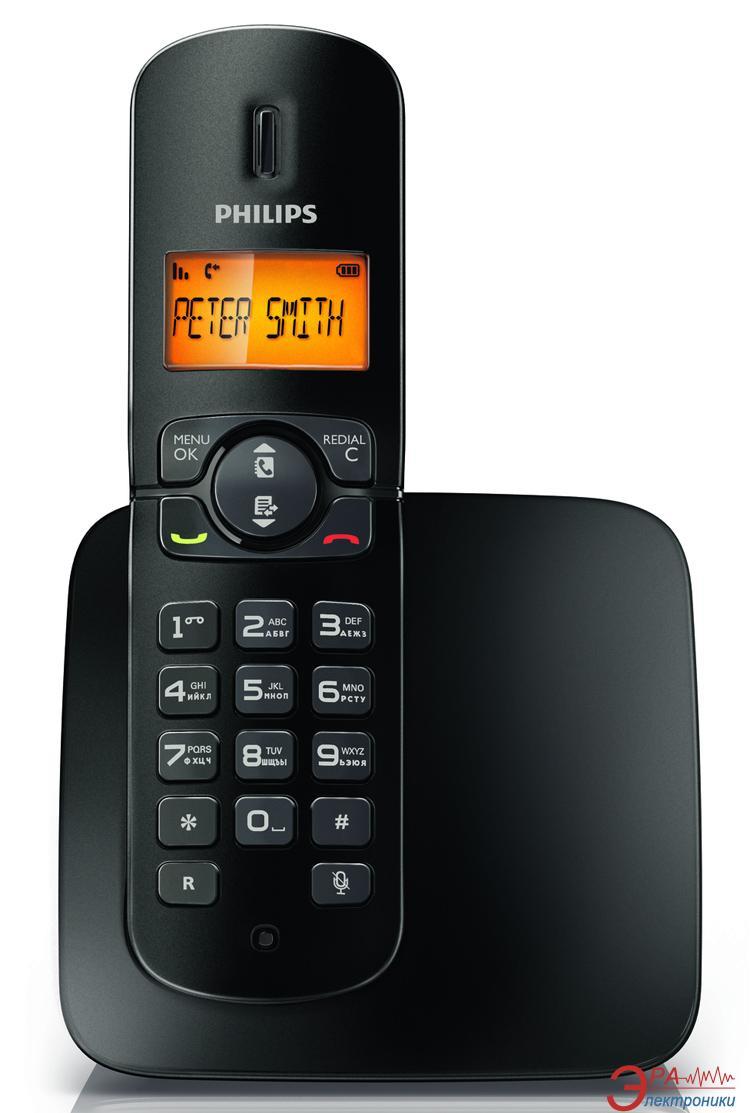 Радиотелефон Philips CD1801B/51 Black