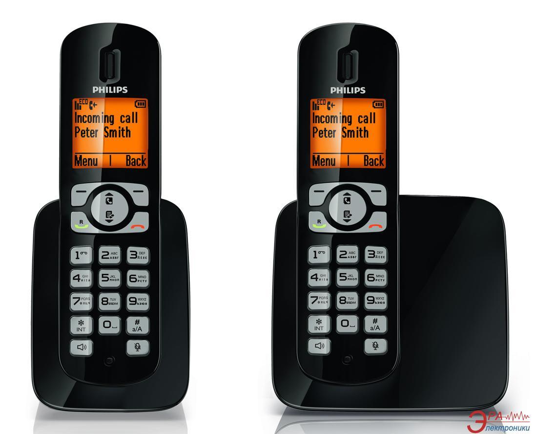 Радиотелефон Philips CD2802B/UA Black