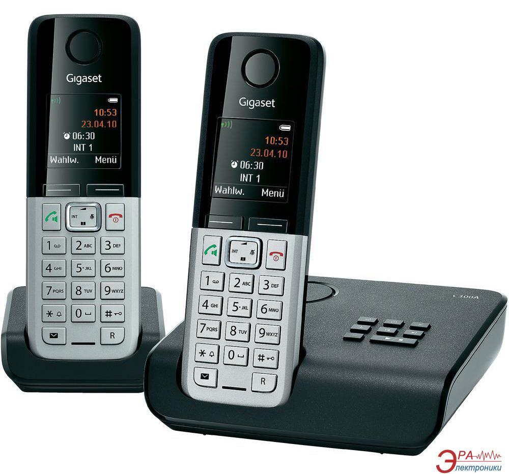 Радиотелефон Gigaset Gigaset C300A  DUO Black