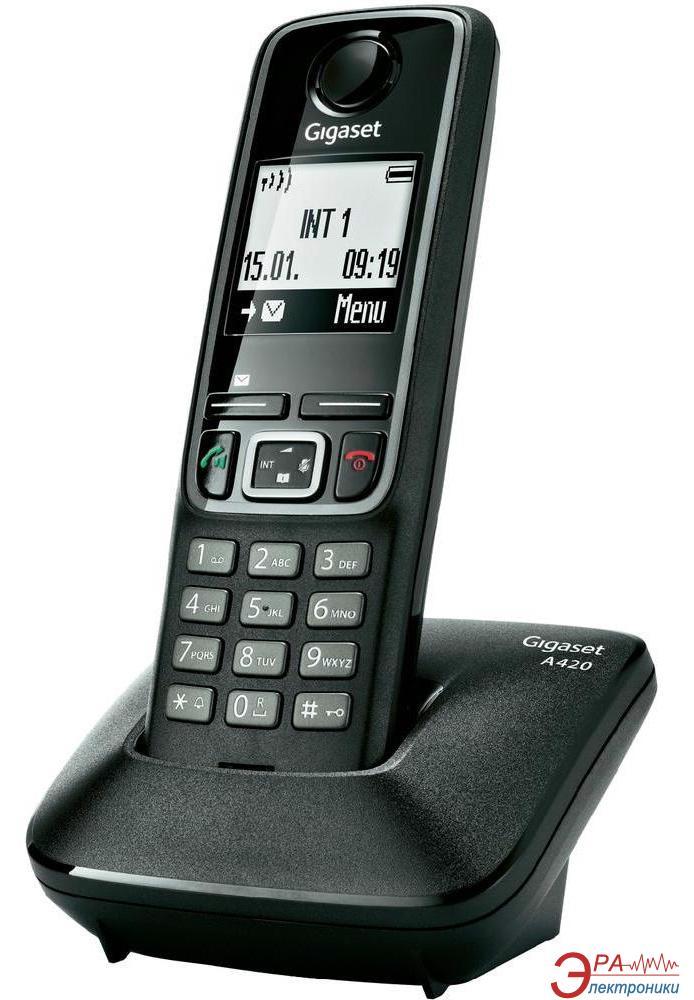 Радиотелефон Gigaset Gigaset A420 SYSTEM Black