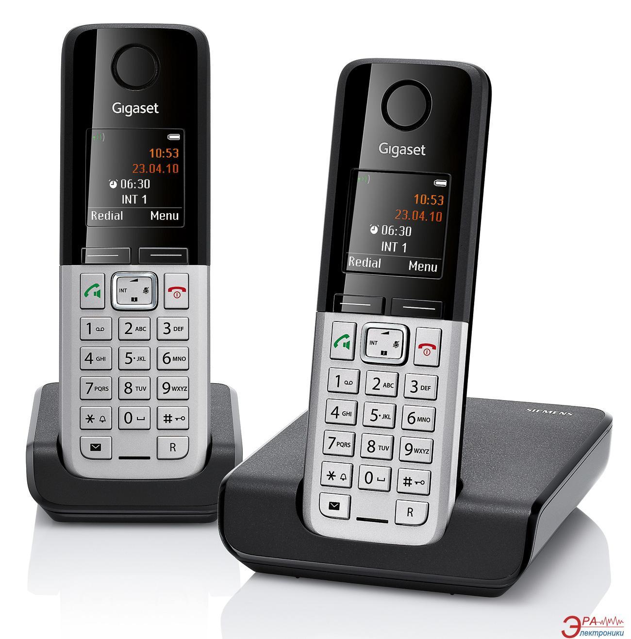 Радиотелефон Gigaset Gigaset C300 DUO Black