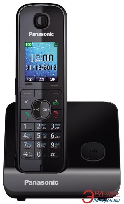 Радиотелефон Panasonic KX-TG8151UAB Black