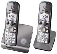Радиотелефон Panasonic KX-TG6712UAB Black