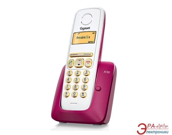 Радиотелефон Gigaset A130 Bordeaux Red