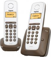 Радиотелефон Gigaset Gigaset A130 DUO Brown