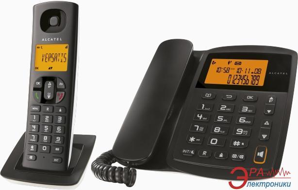 Радиотелефон Alcatel Versatis E100 Combo RU Black
