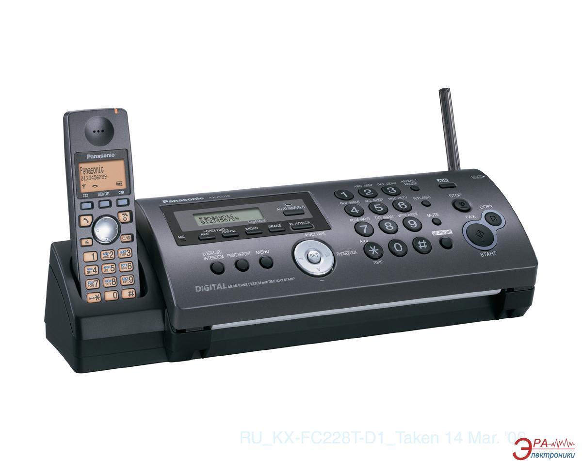 Факсимильный аппарат Panasonic KX-FC228UA-T Titan