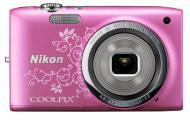 Цифровой фотоаппарат Nikon Coolpix S2700 Pink Lineart