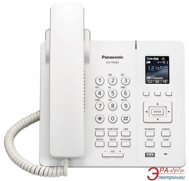 IP-Телефон Panasonic KX-TPA65RU White