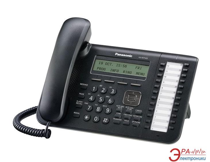 IP-Телефон Panasonic KX-NT543RU Black