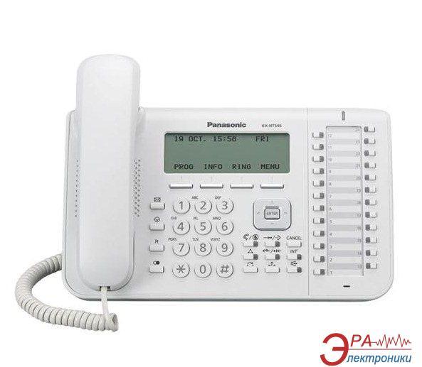 IP-Телефон Panasonic KX-NT546RU White