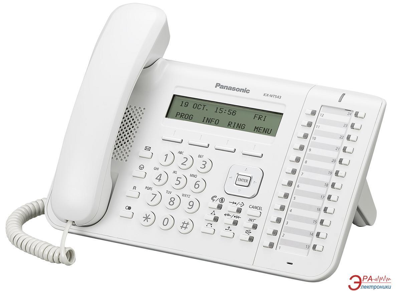 IP-Телефон Panasonic KX-NT543RU White