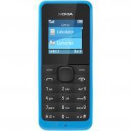 Мобильный телефон Nokia 105 Dual Sim Cyan (A00025709)