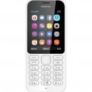 Мобильный телефон Nokia 222 Dual Sim White (A00026179)