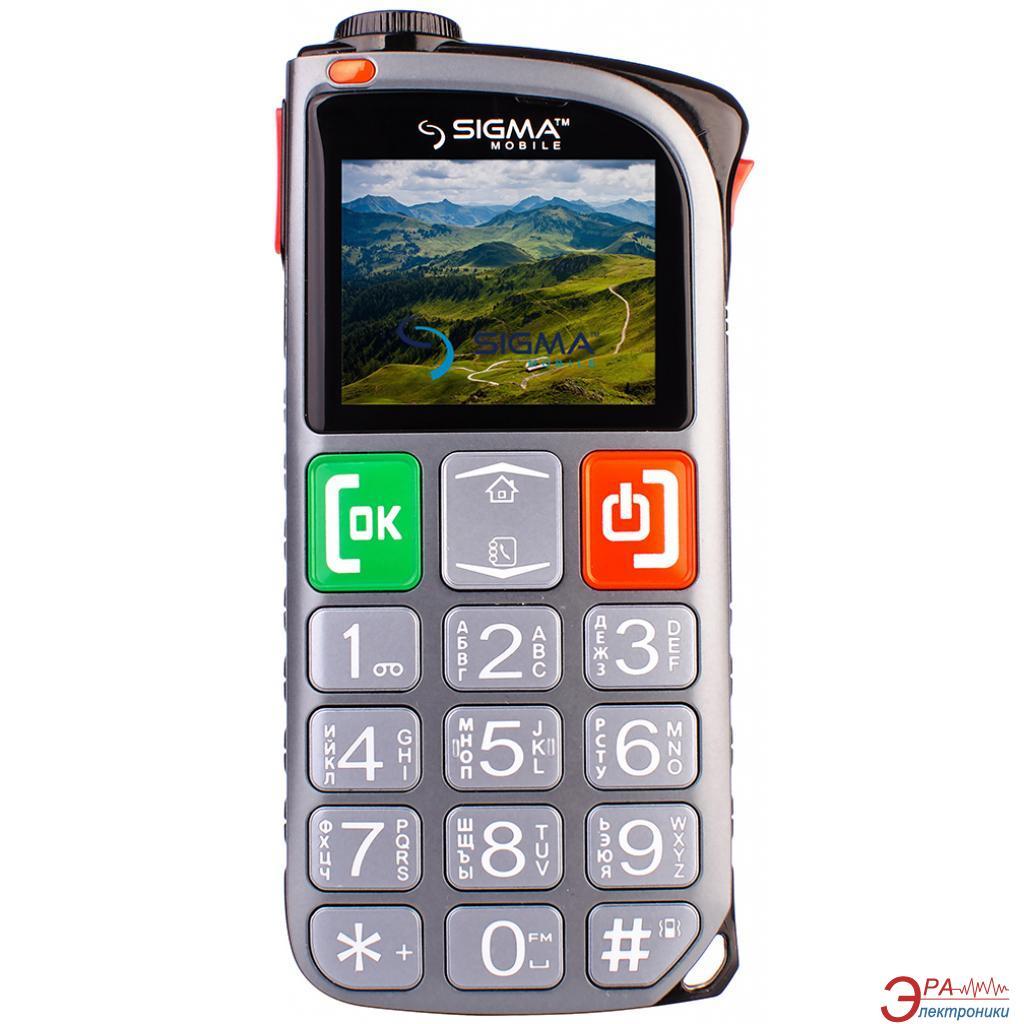 Мобильный телефон Sigma Comfort 50 Light DS Grey (4827798224328)