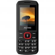 Мобильный телефон Astro A170 Dual Sim Black/Red