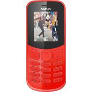Мобильный телефон Nokia 130 New 2017 Dual Sim Red (A00028616)
