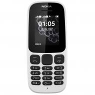 Мобильный телефон Nokia 105 White New (A00028371)