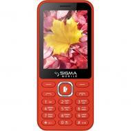 Мобильный телефон Sigma X-style 31 Power Dual Sim Red