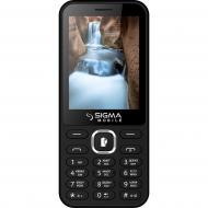 Мобильный телефон Sigma X-style 31 Power Dual Sim Black