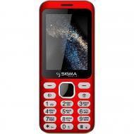 Мобильный телефон Sigma X-style 33 Steel Dual Sim Red