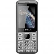 Мобильный телефон Sigma X-style 33 Steel Dual Sim Grey