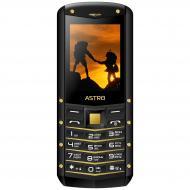 Мобильный телефон Astro B220 Black-Gold