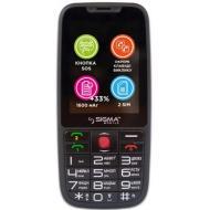 Мобильный телефон Sigma Comfort 50 Elegance3 Dual Sim Black