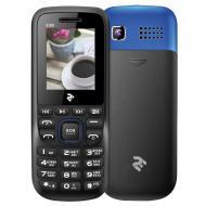 Мобильный телефон 2E E180 DualSim Black-Blue (708744071163)