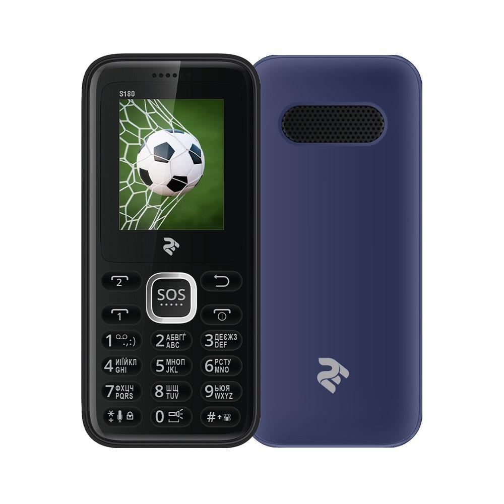 39681a9e62f92 Купити Мобільний телефон 2E S180 DUALSIM Blue за 273 грн | магазин ...