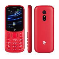 Мобильный телефон 2E E240 2019 Dual Sim Red (680576170019)
