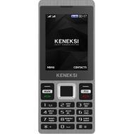 Мобильный телефон Keneksi X8 Dual Sim Black (4602009346026)