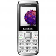 Мобильный телефон Keneksi Q5 Dual Sim Silver (4623720446895)