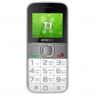 Мобильный телефон Keneksi T1 Dual Sim White (4602009346828)